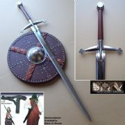 Scottish Claymore Highland 2 Handed Sword